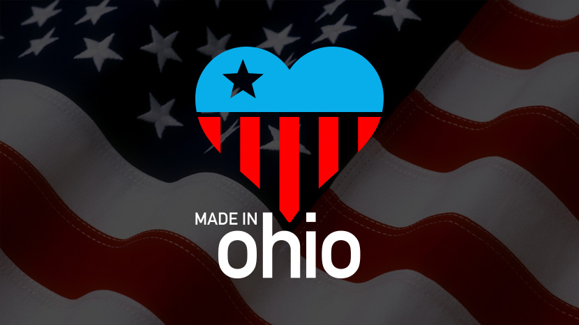 Made in Ohio, USA