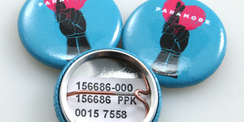 Custom Button Price Tags