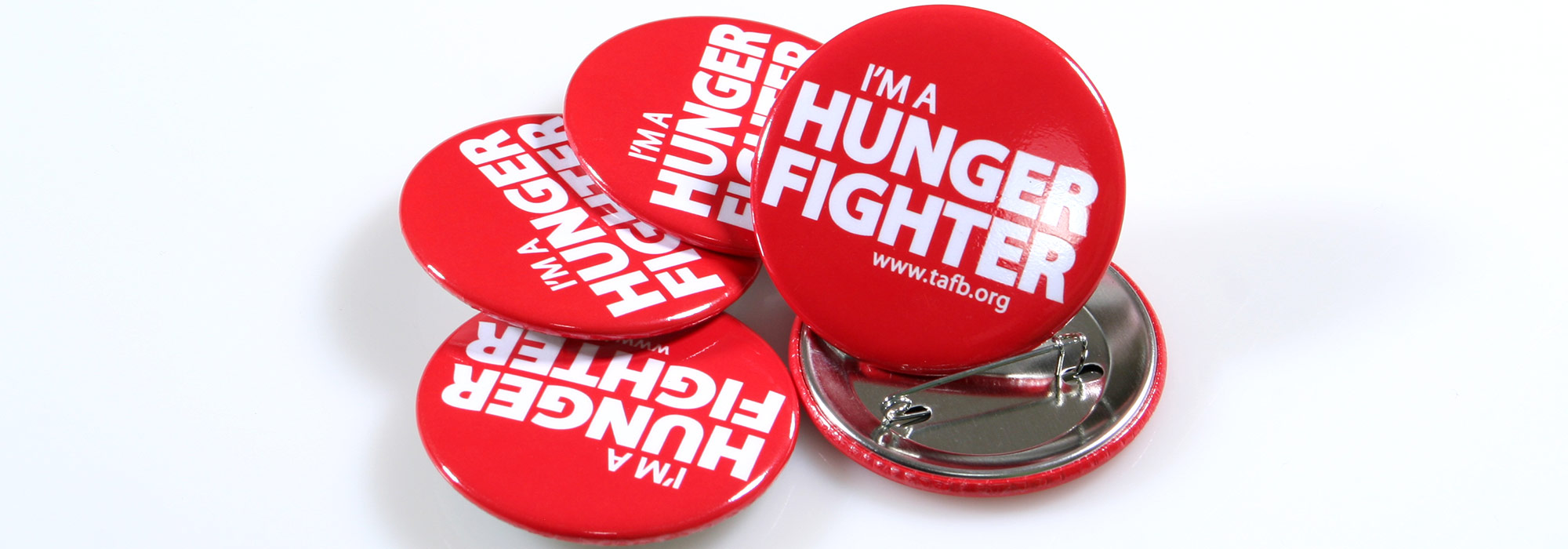 Round Custom Buttons Im a Hunger Fighter