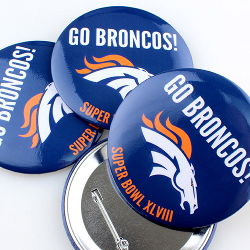 Sports Team Fundraising Custom Buttons