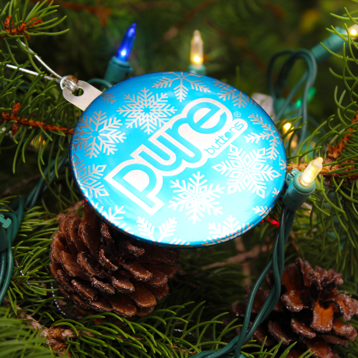 Custom Christmas Ornaments Sample Photo