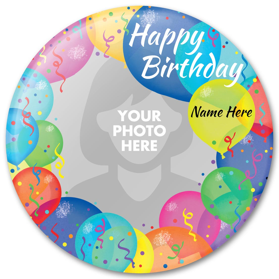 Custom Birthday Invitations, Personalized Photo Gifts - PureButtons