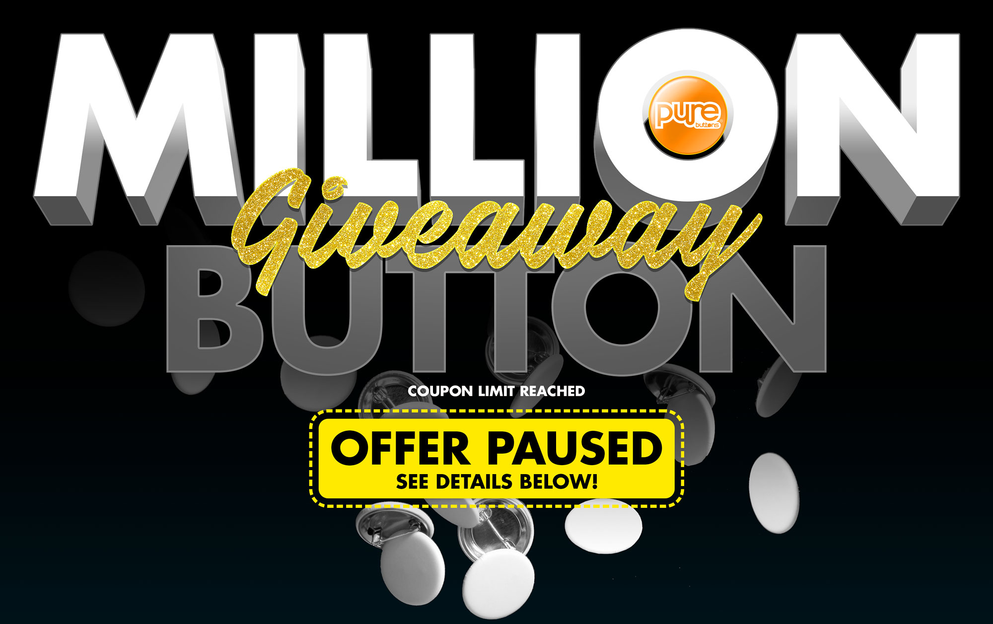 Million Button Giveaway
