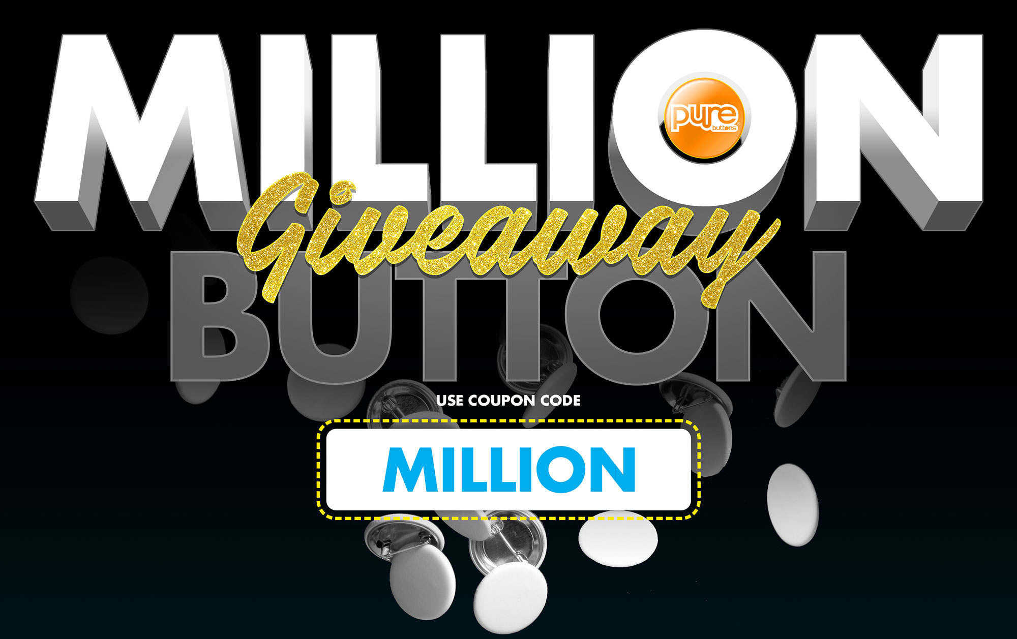 Free Custom Buttons Giving Away Up To One Million Custom Buttons
