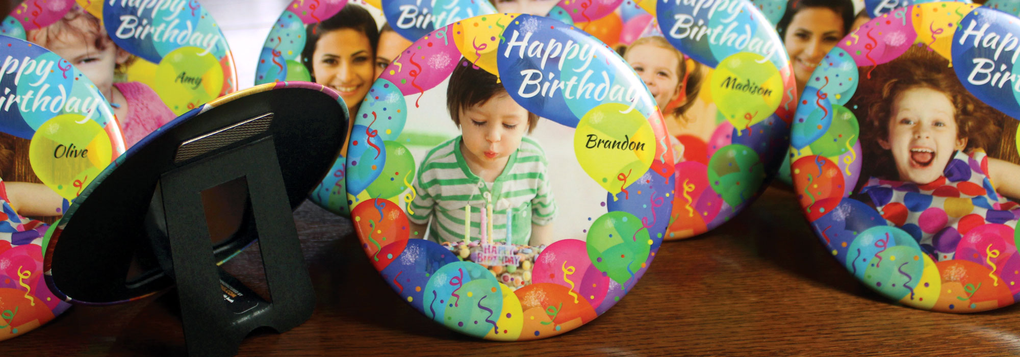 Party Balloons Inch Magnetic Easel