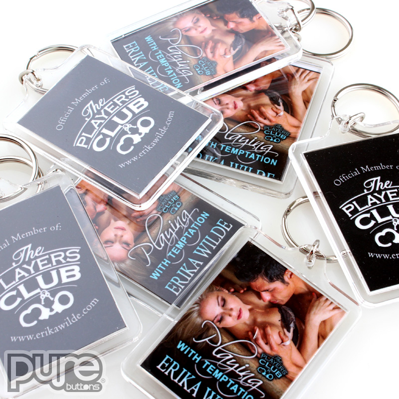 Keychains Samples | Custom Buttons | Promotional Products