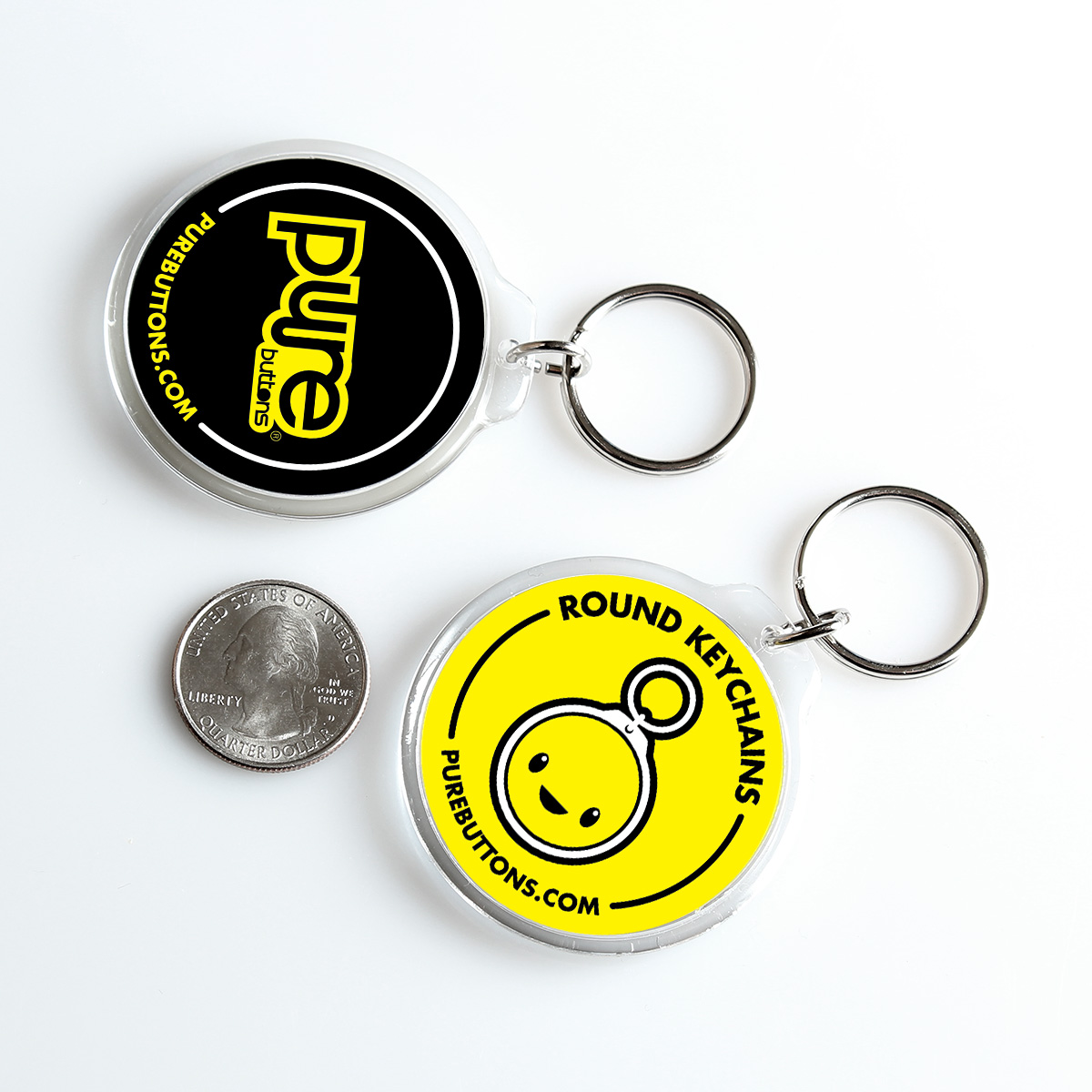 Keychains Samples | Custom Buttons | Promotional Products and Buttons