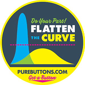 Flatten The Curve Button
