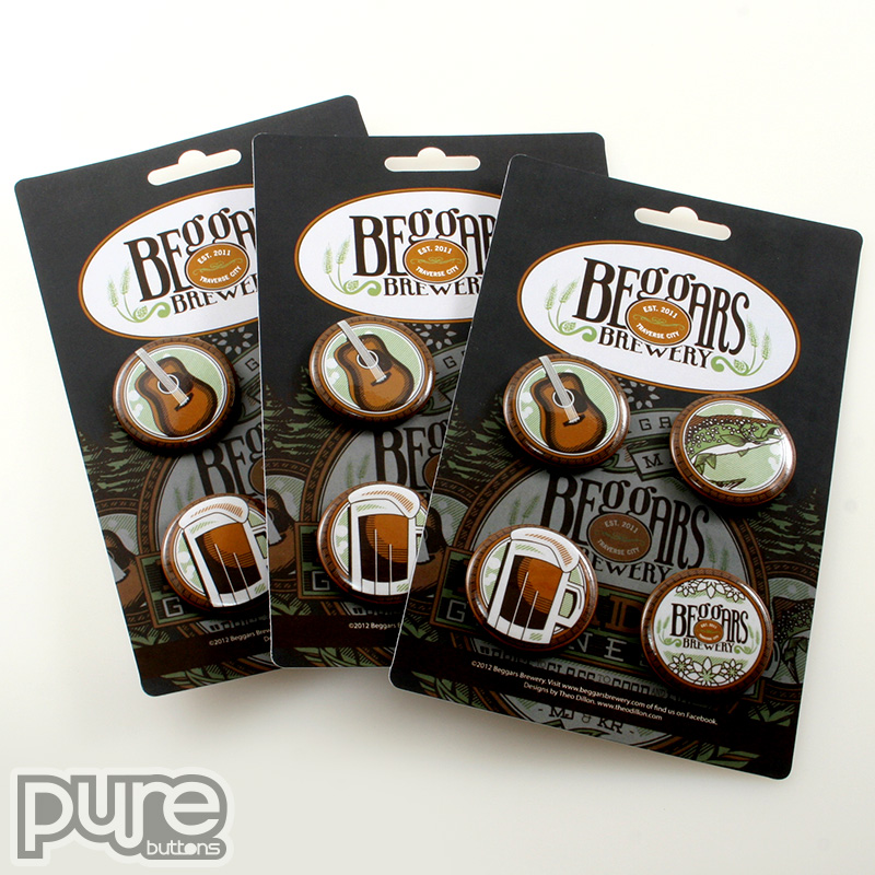 Beggars Brewery Button Packs